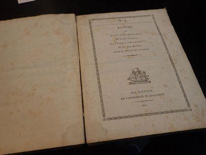 1831. Lettre à Monsieur le ministre de la...