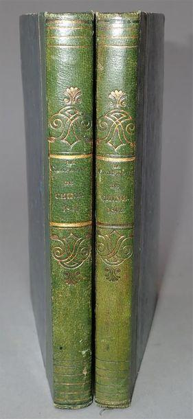 1841 - 1842. Lord Jocelyn et K.S. MacKenzie....