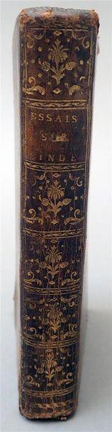 1769. M. de la Flotte. Essais historiques...