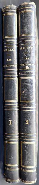 1846. Jean Mallat. Les Philippines: histoire,...