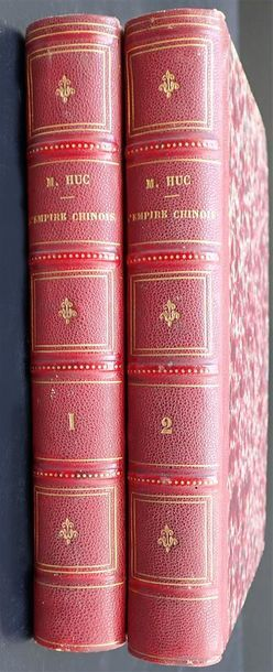 1857. Évariste Régis Huc. L'Empire Chinois...