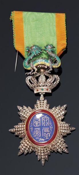 1910  Règne de S.M. l'Empereur Duy Tan (1907-1916)....