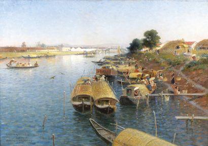 Gaston ROULLET (1847-1925). Peintre officiel...