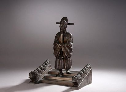Kinichiro Ishikawa (1871-1945)  Sculpture...