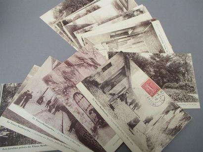 Lot de cartes postales Montmartre.