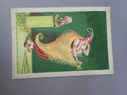 Félix LOCHARD (1874-1951). Projet d'affiche....