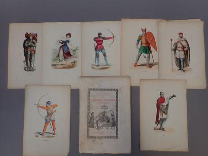 Illustrations couleur et recueil les cuivres...