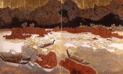 Nguyen Van Ty (1917-1992)  Ecole des Beaux-Arts...