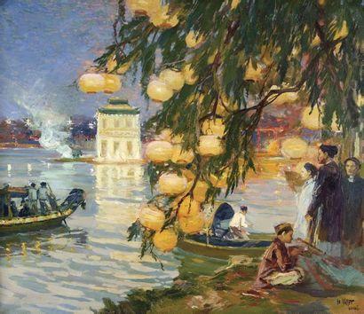 Henri Emile Vollet (1861-1945)  Ecole française...