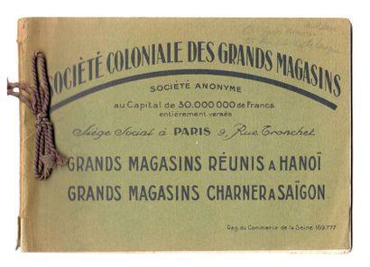 1920. Société Coloniale des Grands Magasins...