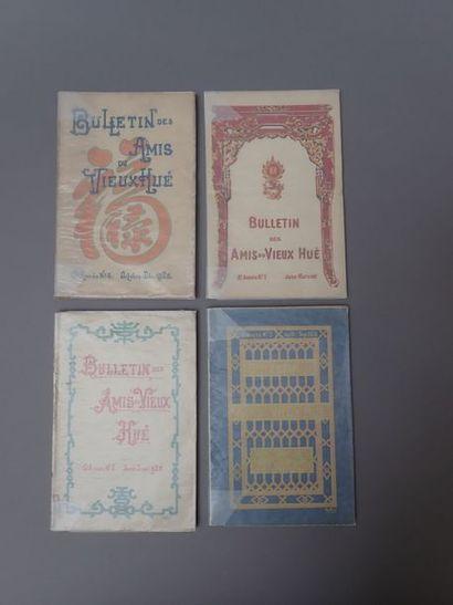1921. BULLETIN DES AMIS DU VIEUX HUE [COLLECTIF],...
