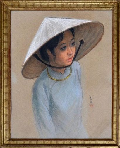 MAI TRUNG THU, dit MAI-THU (1906-1980)  Ecole des Beaux-Arts de l'Indochine. Promotion...