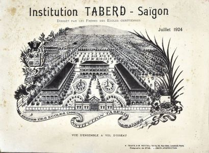 1924  Institution Taberd - Saïgon, Juillet...