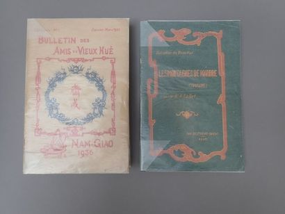 1924. SALLET (Dr. A.), Les Montagnes de marbres,...