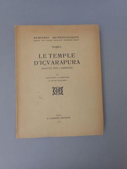 1926. PARMENTIER (H.), GOLOUBEW (V.) et FINOT...