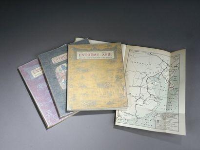 1927. Extrême Asie. Un ensemble de quatre...