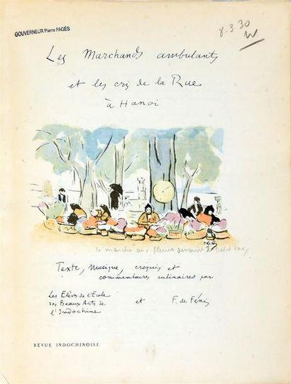 1929  ELEVES DE L'ECOLE DES BEAUX-ARTS DE...