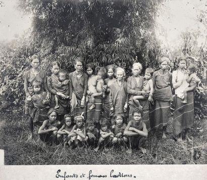 1885  Portraits de colons et de notables...