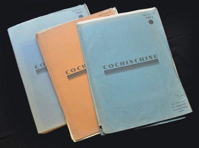 1931. PAUL GASTALDY (XXe) COCHINCHINE, FASCICULES...