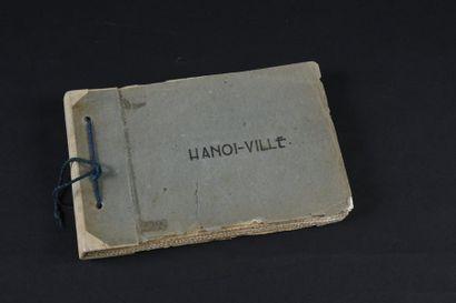 1935  Hanoï-Ville  Un album cartonné gris,...