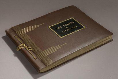 1935. Les forêts de Cochinchine.  Album à...