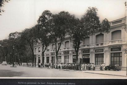 1940  Etablissement Jean Comte - Saïgon Indochine....