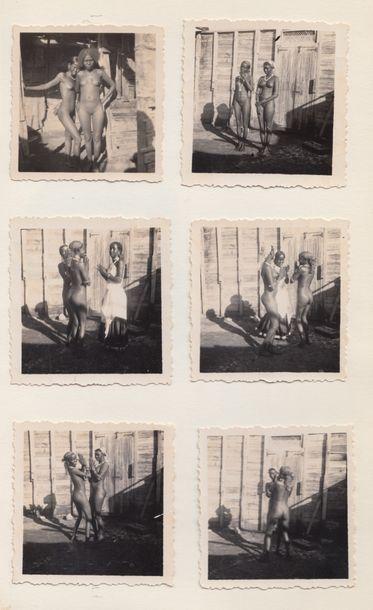 1940. FEMMES. Fleurs exotiques,  Album constitué...