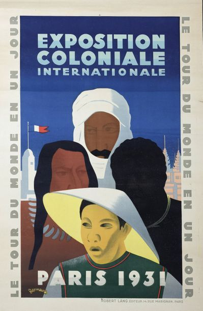 1931  Victor-Jean DESMEURES (1895-XXe)  Exposition...