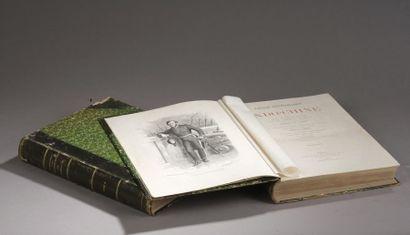 1873. GARNIER Francis. Voyages d'exploration...