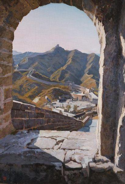 MAO ZONGZE (XXe). Porte de la Grande Muraille...