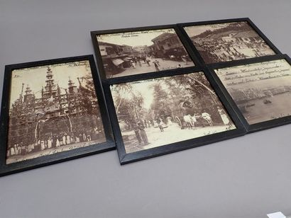 1920. BARTH. Série de 11 tirages photographiques...