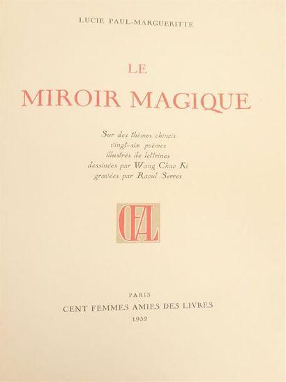 [WANG CHAO KI] PAUL-MARGUERITTE (Lucie),...