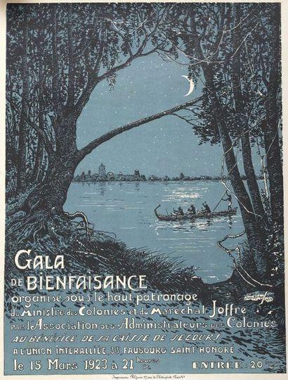 1923  Gala de Bienfaisance  Ministre des...