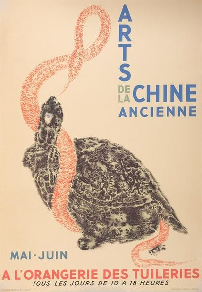 1937. Arts de la Chine ancienne, exposition...