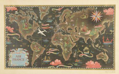 1947. Lucien Boucher. Affiche