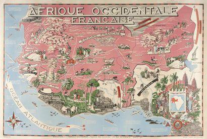 1950. Léo CRASTE (1887-1970), Affiche Carte...