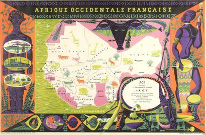 1950. Alain CORNIC (1920). Afrique Occidentale...