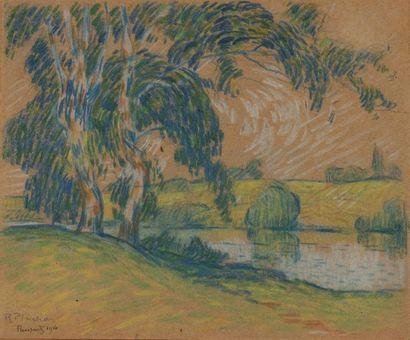 Robert Antoine PINCHON (1886-1943) Vue de...