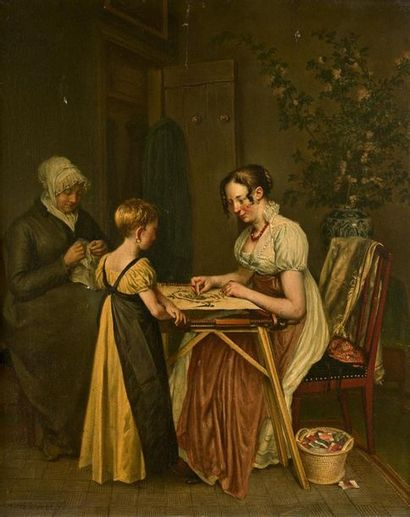 Wybrand HENDRICKS (Amsterdam 1744-Harleem...