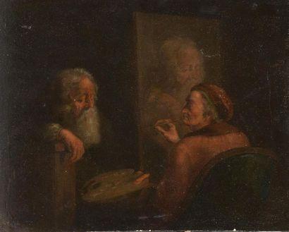 Attribué à Jean-Jacques de BOISSIEU (1736-1810)...