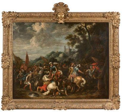Gerard HOET le Vieux (1648- 1733) Scène de...