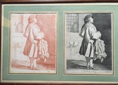 Edme Bouchardon (1698-1762) Les cris de Paris...