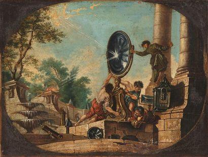 D'après Jacques de Lajoue (1687-1761) Scène...