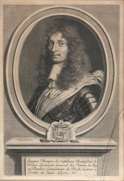 Robert Nanteuil (Reims 1623-Paris 1678) Jacques...