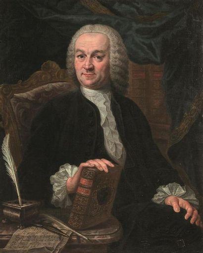 École française, vers 1760 Portrait d'un...