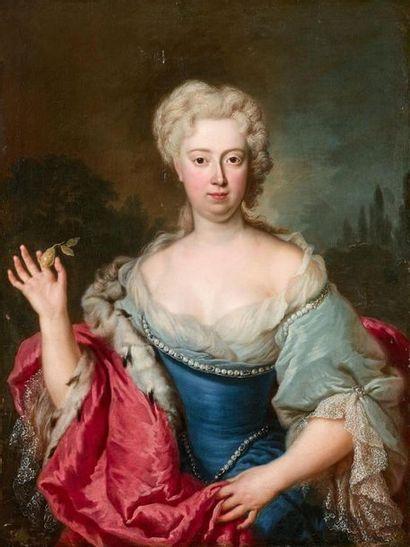 Attribué à Georg DESMAREES (1697-1776) Portrait...