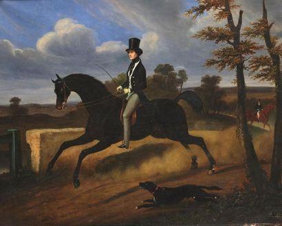 Philippe LEDIEU (actif vers 1827-1850) Portrait...