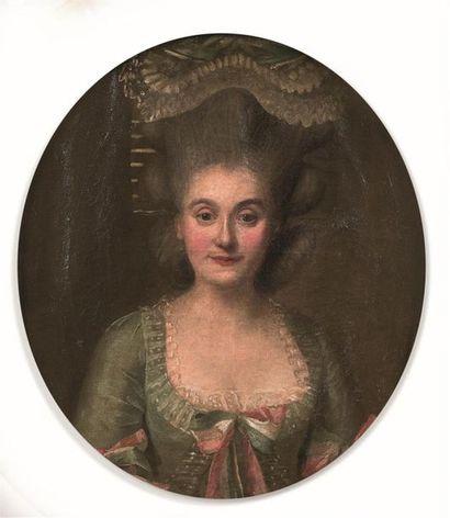 Attribué à Claude ARNULPHY (1697-1786) Portrait...