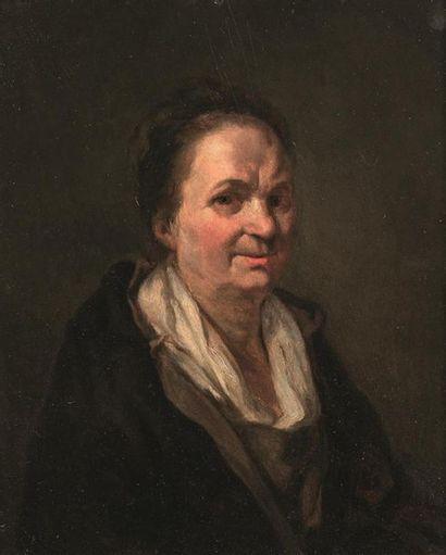 Attribué à Etienne THEOLON (1739-1780) Portrait...
