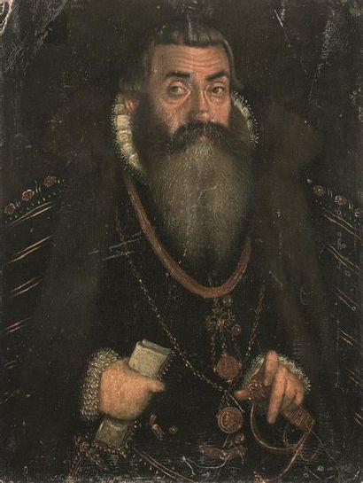École de Prague, vers 1580 Portrait de Georges...